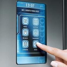 Перенавешивание дверей холодильника с электронным дисплеем