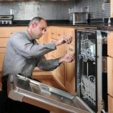 Подключение и установка встраиваемой посудомоечной машины без навешивания фасада