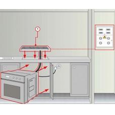 Подключение зависимого комплекта (варочная панель + духовой шкаф)